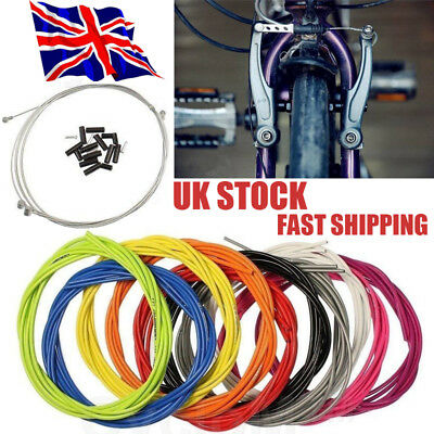 Jagwire Kits Brake + Gear Front Rear Inner Outer Bike Cables Bicycle Cable Set • 6.25£