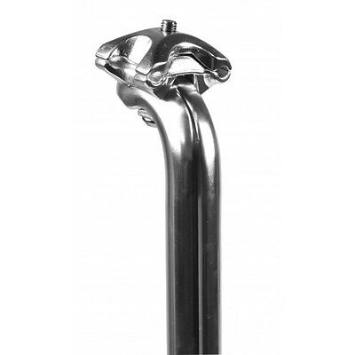 Kalloy SP248 Alloy Silver 400mm Seatpost 25.0mm To 31.8 In 0.2mm Increments.  • 15£