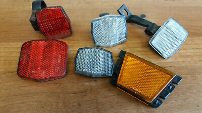 Bicycle Reflectors Small Job Lot • 5.99£