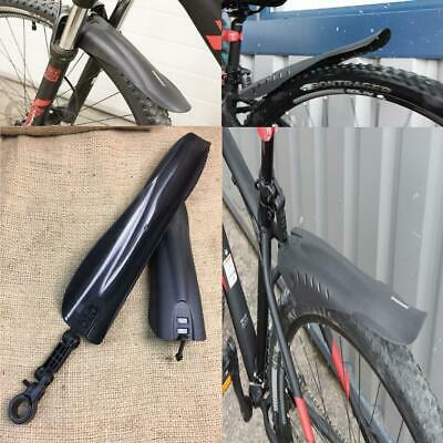 Clearance Lot922352 Front And Rear Mudguard Set Mountain Road Bikes Easy Fit Adj • 2.95£