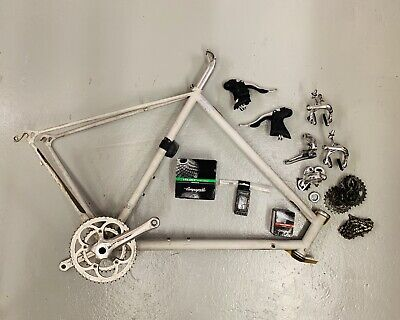 Campagnolo Veloce Groupset And Columbus Thron Frame • 320£