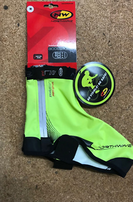 Northwave H2O Extreme Windproof Waterproof Thermal Shoe Cover Overshoes Yellow  • 14.99£