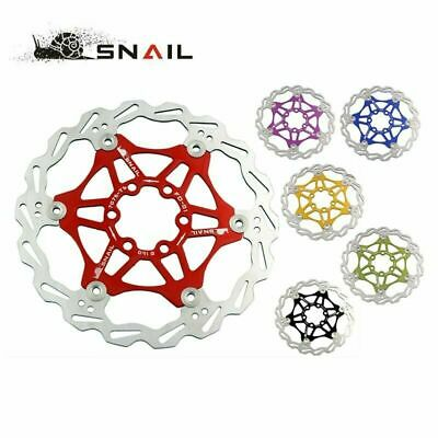 Snail Floating Rotors MTB Disc For Shimano 160/180/203mm W/ 6 Bolt • 17.59£