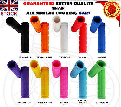 Soft MTB BMX Cycle Road Mountain Bicycle Scooter Bike Handle Bar Grips HandGrips • 4.15£