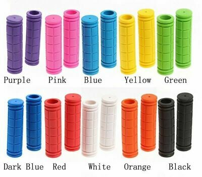 Soft MTB BMX Cycle Road Mountain Bicycle Scooter Bikes Handle Bar Grips UK ZC • 3.65£