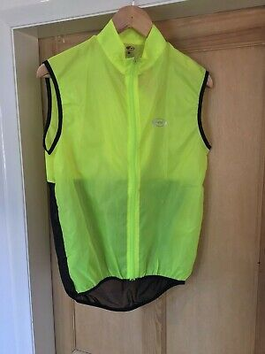 Northwave Sid Mens Cycling Gilet Size Small Hi Viz Fluoro Yellow  • 20£