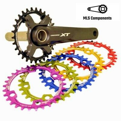 Snail Narrow Wide Chainring For  Shimano M7000 M8000 M9000 32T/34T/36T 96BCD • 15.99£