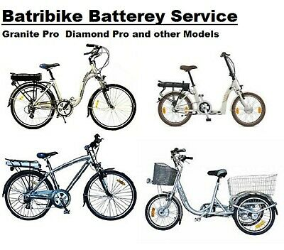 Batribike Battery SERVICE Granite Omega. Shadow Diamond Pro Trike • 289.99£