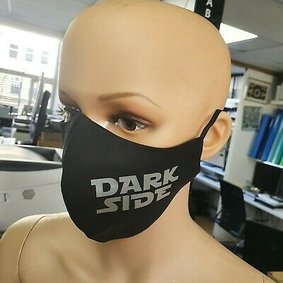Star Wars Re Usable Black Cotton Face Mask Design Fashion Keep Distance Cyclists • 6.99£
