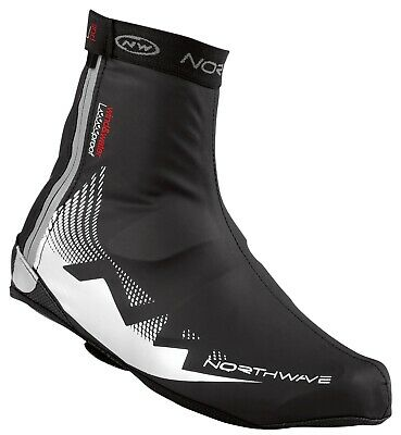 Northwave H2O Extreme Windproof Waterproof Thermal Shoe Cover Overshoes Black  • 14.99£
