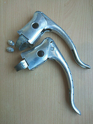Vintage Weinmann Drilled Brake Levers Eroica • 12.95£