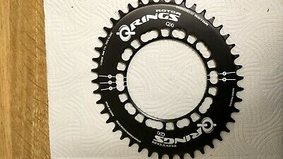 Rotor QCX 1 Wide Narrow Chainring - 110x5 Bolt - 44t • 13£