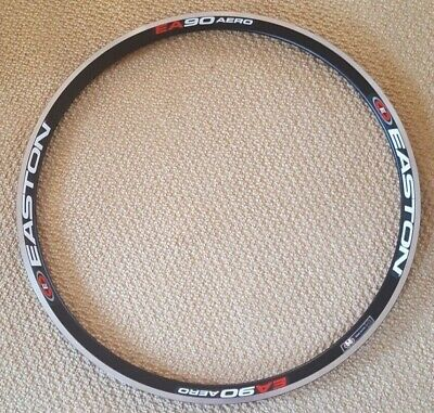 Easton EA90 Aero Front Alloy Rim - 700c - Rim Brake - 18 Hole - Black • 64.99£
