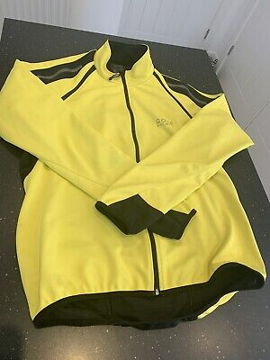 Men's Gore Windstopper Soft Shell Cycling Jacket Large • 15£