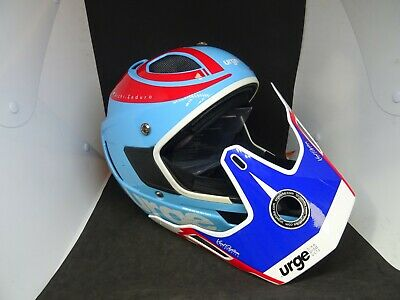 Urge Archi-Enduro Helmet RR SIZE - XL BLUE - RED - WHITE ] • 3.20£