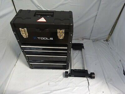 LifeLine Rolling Toolbox ONE SIZE BLACK $ • 21£