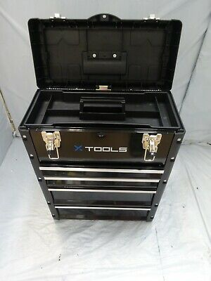 LifeLine Rolling Toolbox ONE SIZE BLACK $ • 18.67£