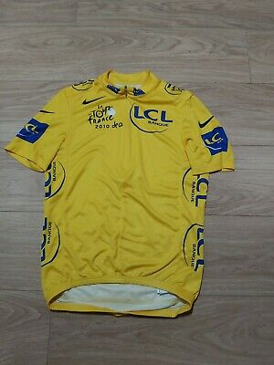NikeTour De France 2010 MEN'S CYCLING JERSEY SIZE S  VERY GOOD CONDITION  • 10£