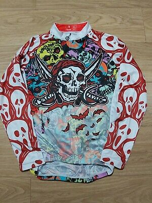 Paladin Pirates Cycling Long Sleeve Jersey  Size XL VERY GOOD CONDITION  • 11£