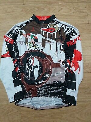 Paladin Pirates Cycling Long Sleeve Jersey  Size XL VERY GOOD CONDITION  • 10£