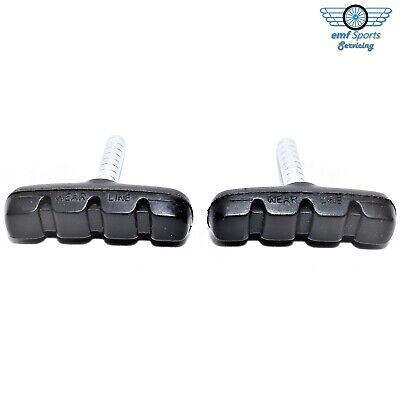 BRAKE PADS (Blocks, Shoes) For Bikes & Cycles: 55mm Cantilever Threadless Post • 2.95£