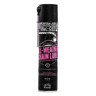 Muc-Off All Weather Chain Lube Motorcycle Motorbike Chain Lubricants 400ml • 10.69£