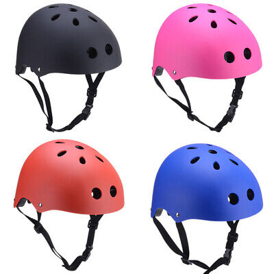 UK Kids Adult Child Bicycle Bike Skateboard Stunt Bomber Scooter Helmet S-L • 8.99£