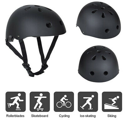 Kids Adult Helmet Bicycle Bike Helmet Skateboard Stunt Bomber Scooter Helmet • 10.99£