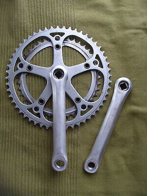 Vintage Stronglight Double Crankset 170mm 52/42 Teeth • 15£