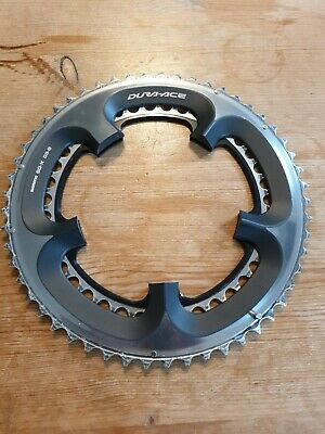 Shimano Dura-Ace 7900 10 Speed 53/39 (130BCD) Chainrings *Worn But Clean* • 29.99£