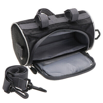 Cycle Bike Touch Screen Front Handlebar Bag Phone Holder Bicycle Pouch Pannier • 8.40£