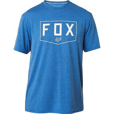 Fox Shield SS Tech Tee Heather Royal Blue • 14.99£