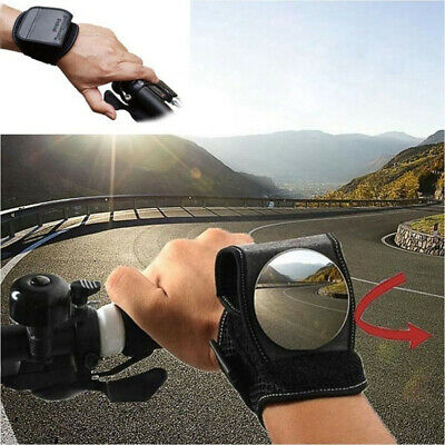 Adjustable Armband Rearview Bicycle Mirror Wrist Band 360° Bike Rear View Mirror • 9.99£