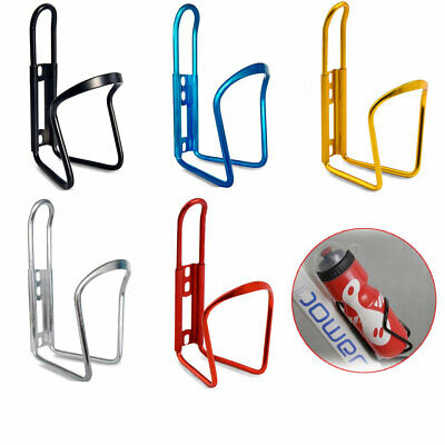 Aluminum Alloy Water Bottle Holder Sports Bike Bicycle Cycling Drink Rack Cage • 2.99£