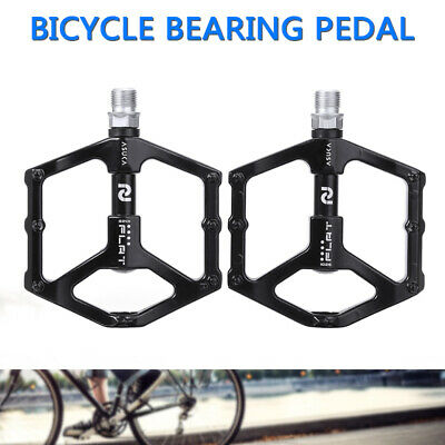 Bicycle Pedals Flat/Platform Aluminum Alloy  Road Cycling MTB Mountain Bike UK • 11.99£