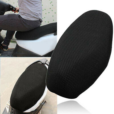 3D Breathable Mesh Net Scooter Motorbike Moped Seat Cushion Cover Mat UK • 6.33£
