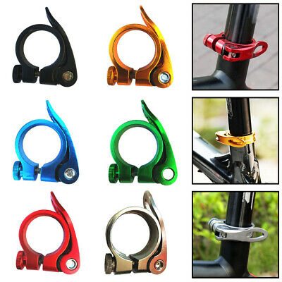 31.8mm Saddle Fixed Cycling Spare Element Quick Release Bicycle Parts Alloy Tool • 3.48£