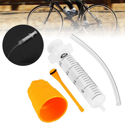 Bicycle Hydraulic Disc Brake Mineral Oil Bleed Kit Funnel Set MTB Bike Tool Part • 4.49£