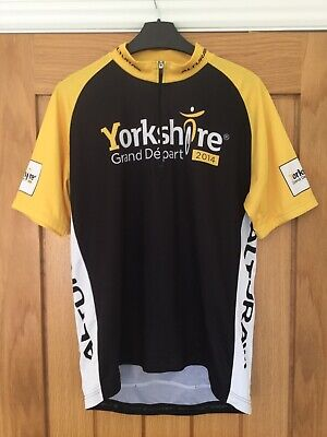 Mens Tour De France Yorkshire Cycling Jersey. Size XL (see More Details Below) • 5£