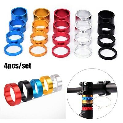 MTB Cycling Washer Cap Road Bike Parts Headset Stem Spacer Bicycle Fork Washers • 3.25£