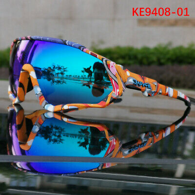 Bike Sunglasses Glasses Cycling Polarized Sports Cycling Goggles Bicycle 5 LensK • 17.99£