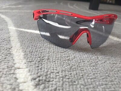 Rudy Project Tralyx XL Fire Red Gloss Sunglasses - Impact X 2black • 35£
