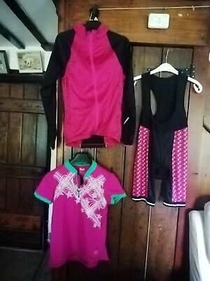 Ladies Cycling Bundle.  Size Small.  • 6.90£