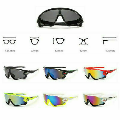 Anti-Shock Outdoor Cycling Sunglasses Biking Running Fishing Golf Sports Glasses • 4.99£