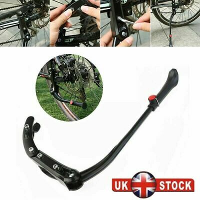 Adjustable Mountain Bike Bicycle Cycle Prop Side Rear Kick Stand Heavy Duty New • 10.68£