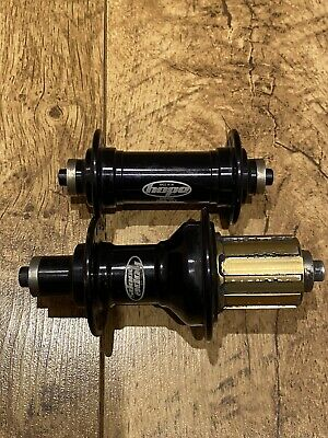 Pair Hope Pro 3 Road Hubs 32 Hole Black 10 Speed Shimano GC • 29.99£