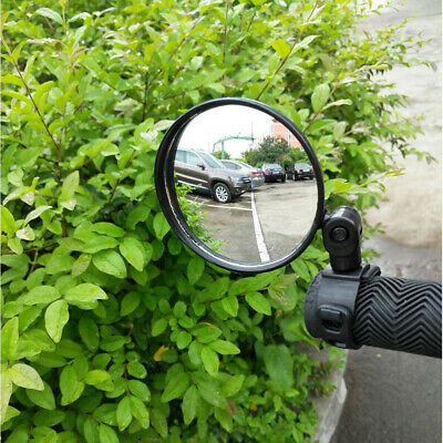 Rotate Bicycle Bike Cycling Handlebar Rear View Rearview Mirror Safety Practial • 4.06£