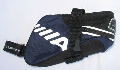 Altura - Small Saddle Bag - Blue And Black With Reflective Markings • 5.50£