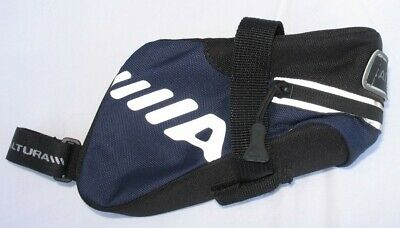 Altura - Small Saddle Bag - Black And Blue With Reflective Markings • 5.50£
