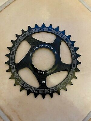 RaceFace Cinch Direct Mount 30t Narrow Wide Chainring, Black • 15£